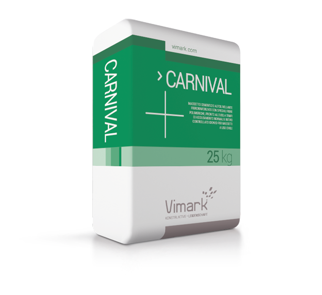 Self-levelling cement screed CARNIVAL