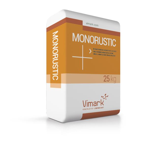 One coat render mortar MONORUSTIC