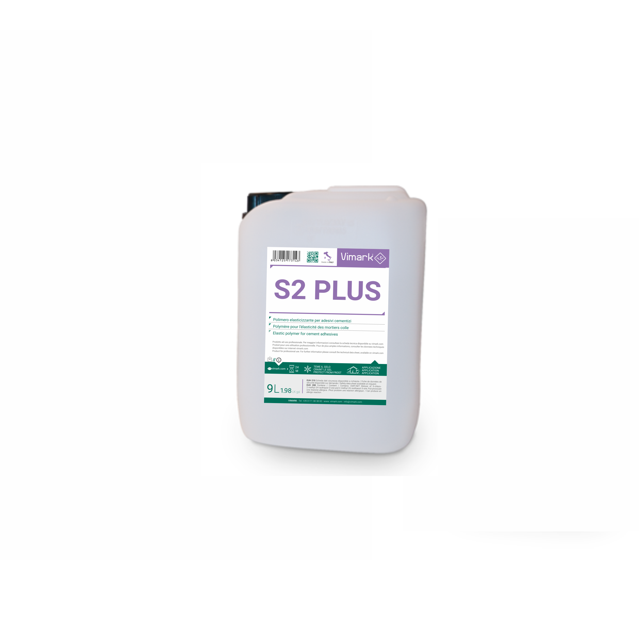 Polymeric admixture for adhesives S2 PLUS